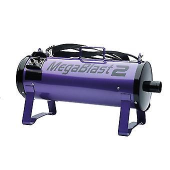 Megablast 2 Powerful Pet Grooming Blaster with 3 Speed Settings, Purple
