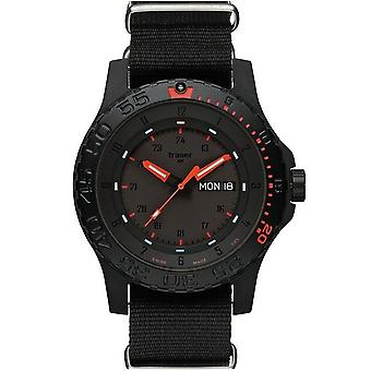 Traser H3 Watch Red combat 104147