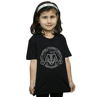Harry Potter Girls Hufflepuff Seal T-Shirt