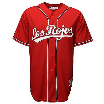 Majestic Authentic Cool Base Jersey - Cincinnati Reds