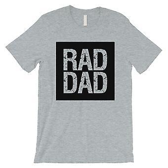 RAD isä miesten harmaa paita