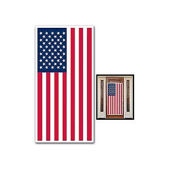 Amerikaanse vlag deur Cover
