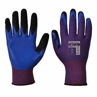 Portwest - Duo-Flex Work & Gripper Glove (1 Pair Pack)