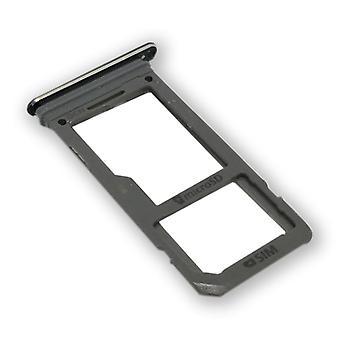 Samsung Galaxy S8 G950F GH98 41131A Simkartenhalter SIM taca SIM przesuń czarny