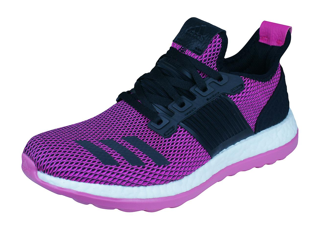3f5abe9d5 Womens adidas Running Trainers PureBOOST ZG Training Shoes - Pink ...