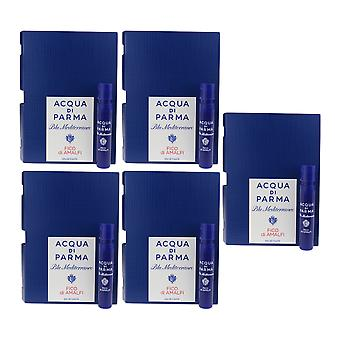 Acqua Di Parma 'Blu Mediterraneo Fico Di Amalfi' EDT 0.04oz/1.2ml ( Pack Of 5)