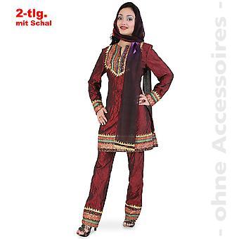 Maharani Lady kostuum Indian Princess meisje dames kostuum