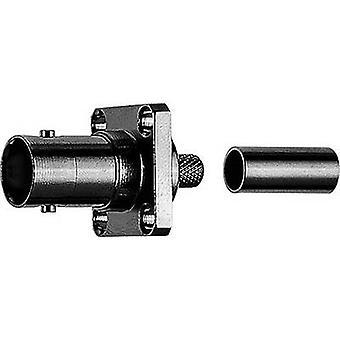 BNC-liitin, sisäänrakennettu 50 Ω Telegärtner J01001A0079 1 kpl