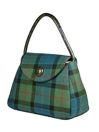 Harris Tweed or Tartan Handbag S (Flower of Scotland Tartan)