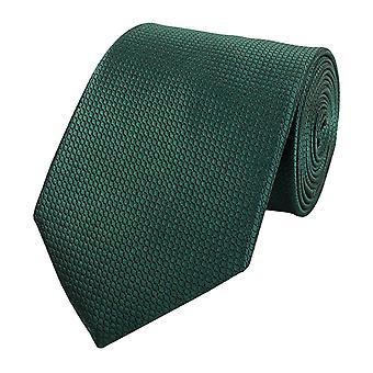 Knyta slips tie slips 8cm grön våffla optik Fabio Farini