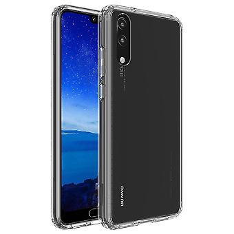 Mobile Shell for Huawei P20 gennemsigtig Smartphone cover kofanger shell tilfælde