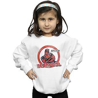 Marvel Girls Deadpool Seriously Speech Bubble Sweatshirt