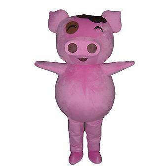 mascot pig pink, plump and funny SPOTSOUND