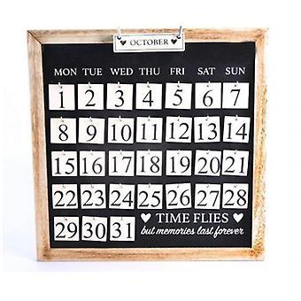 時間ハエが思い出カレンダーは永遠に続く
