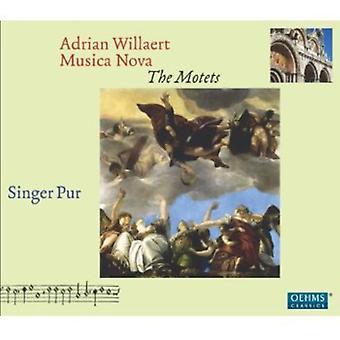 A. Willaert - Adrian Willaert: Musica Nova - the Motets [CD] USA import