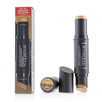 Smashbox Studio Skin Shaping Foundation + Soft Contour Stick - # 3.1 Neutral Medium Beige - 11.75g/0.4oz