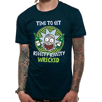 Rick And Morty - Riggity Riggity Wrecked (Unisex)   T-Shirt