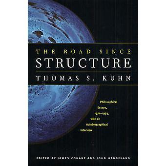 Die Straße seit Struktur - philosophischen Essays - 1970-1993 - mit einer