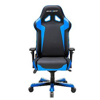 DX Racer DXRacer OH/SJ00/NB High-Back Gaming Chair PU Executive Desk Chair(Black/Blue)