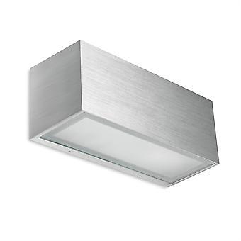 Lia vägg ljus borstat Aluminium - lysdioder-C4 05-4401-BX-B8