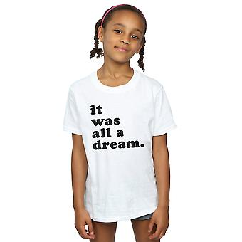 Notorious BIG Girls träumen Text T-Shirt
