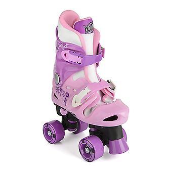 ATV Quad, rosa/viola pattini a rotelle, dimensione di Xootz Kid 13-3