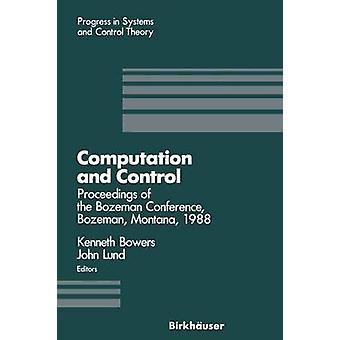 Laskenta- ja valvontamenettelyjä Bozeman konferenssin Bozeman Montana elokuussa 111 1988 Bowers & Kenneth l.
