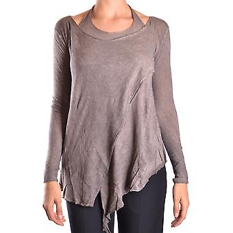 Dondup Ezbc051006 Women's Brown Cotton Blouse
