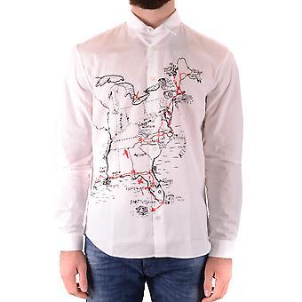 Mcq Door Alexander Mcqueen Ezbc053061 Men's White Cotton Shirt
