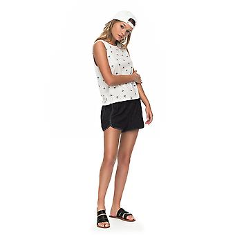 Roxy Womens Tide Down Shorts - Anthracite Black