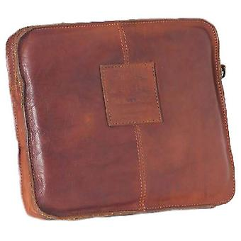 Ashwood nahka Shoreditch Vintage Dipped nahka Tablet Sleeve-Rust Tan