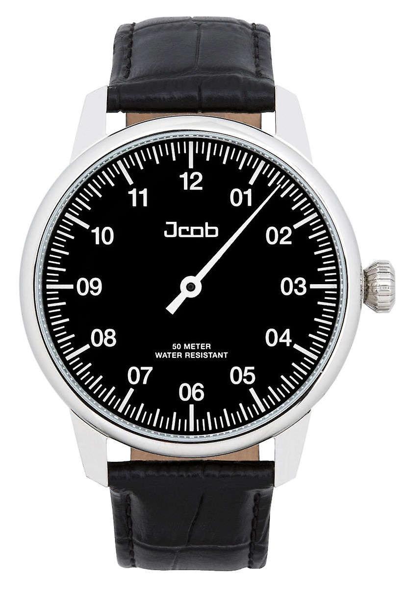 Einzeiger Jcw002-Jacob Ls02 Black Men's Watch