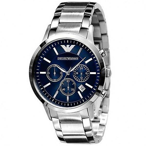 Armani Watches Ar2448 Silver Stainless Steel Men's Watch