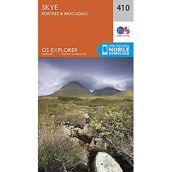 Skye - Portree and Bracadale (September 2015 ed) by Ordnance Survey -