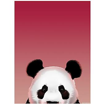 Créatures inquisitrices pop-up Panda mini affiche