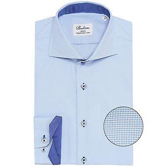 Stenstroms Slimline Micro Patterned Shirt