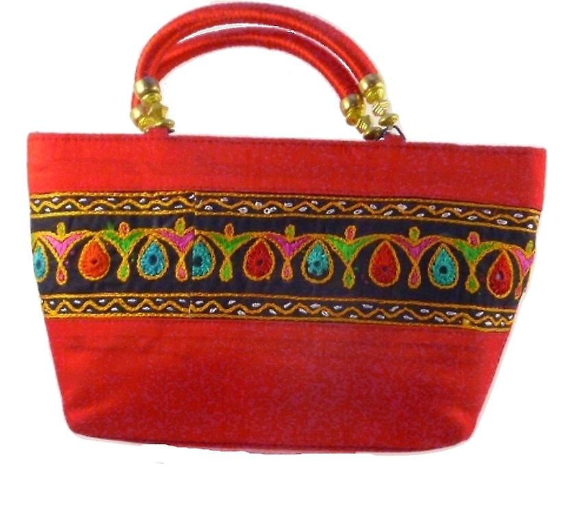 Silk Handbag Divya 04 Silk Sauvage at Pashmina & Silk