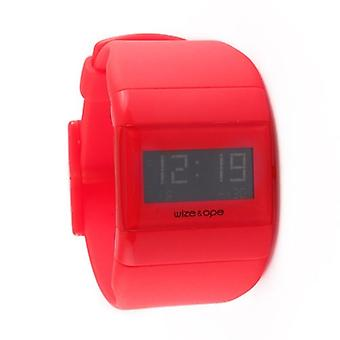 Wize and Ope Classic  Red Digital  Watch WO-ALL-6
