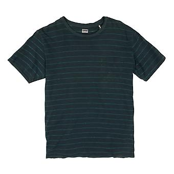 Edwin Denim Marvin Blue Striped T-Shirt