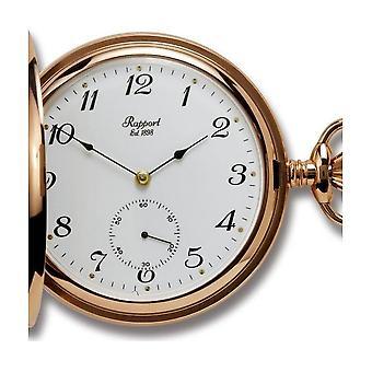 Rapport London Pocket Watch mechanische open gezicht Pocket Watch PW83
