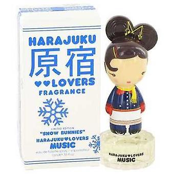 Harajuku Lovers Snow Bunnies Music By Gwen Stefani Eau De Toilette Spray .33 Oz (women) V728-462942