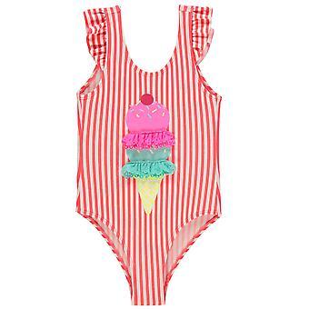 Muotoillut tytöt Beach Pool kesällä uimapuku lapsi lapset Junior
