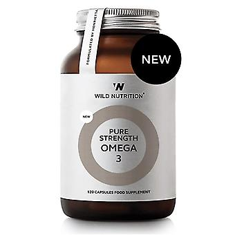 Wild Nutrition Pure Strength Omega-3 Kapseln 120