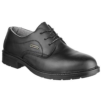 Amblers Safety Mens FS62 Impermeabile pizzo su Gibson Safety Shoe Black