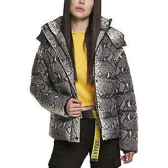 Urban Classics doamnelor-tampon cu glugă de iarnă jacheta sarpe