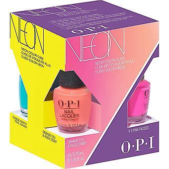 OPI Neon 2019 Nail Polish Collection - Mini Set (4 X 3.75ML) (DDN01)