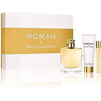 Ralph Lauren kvinde af Ralph Lauren gave sæt 50ml EDP + 10ml EDP + 75ml body lotion