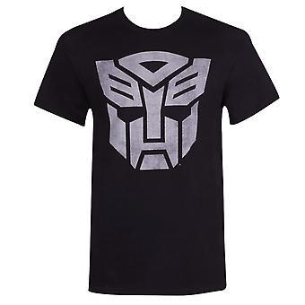 Autobotit muuntajat Decepticons miesten ' s musta T-paita