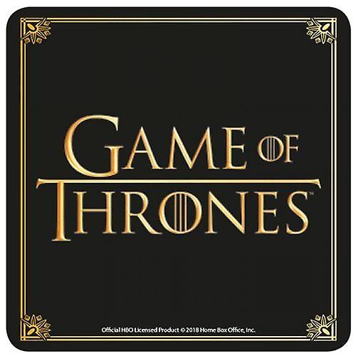 Game Of Thrones Official Logo Coaster