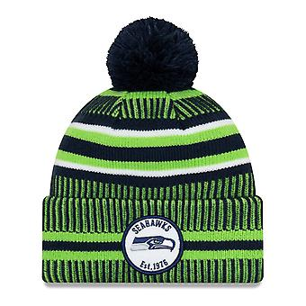 New Era Sideline Bommel Kinder Mütze Youth Seattle Seahawks